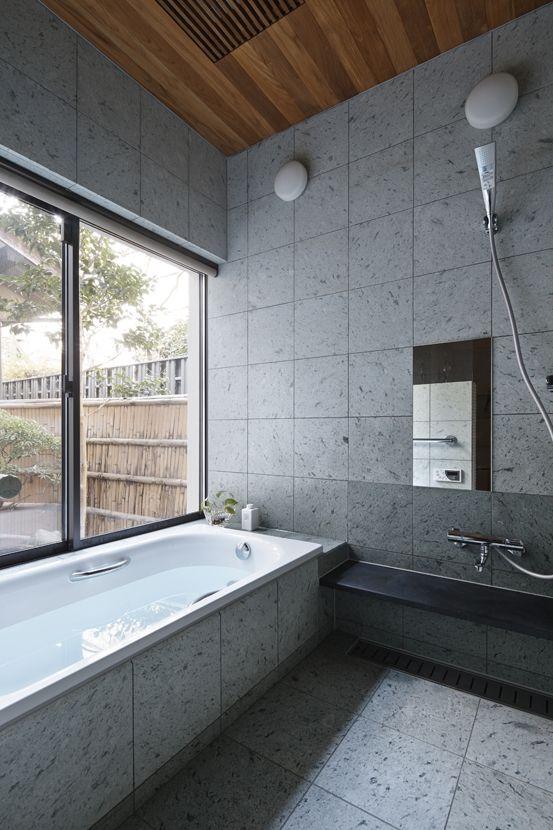 トイレ/バス事例:浴室(oyama house)