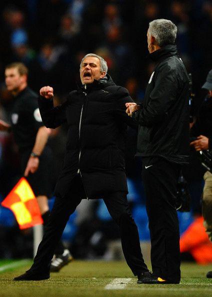 Jose Mourinho - Manchester City v Chelsea