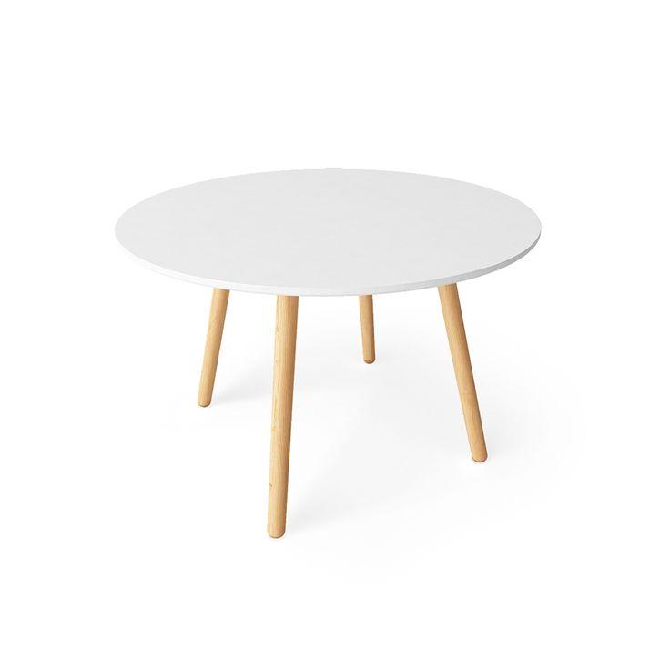Ray Matbord 110 cm, Vit/Ek - Department - Department - RoyalDesign.se #department #royaldesign #table #furniture #design #interior