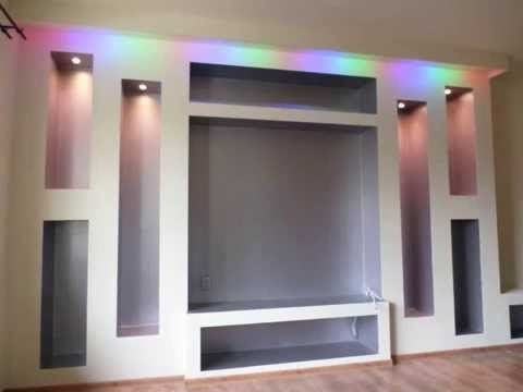 cosy drywall entertainment centers. m diafal  nappali gipszkarton l tv nyfal fal 7 like the big M Built in entertainment center for our living room