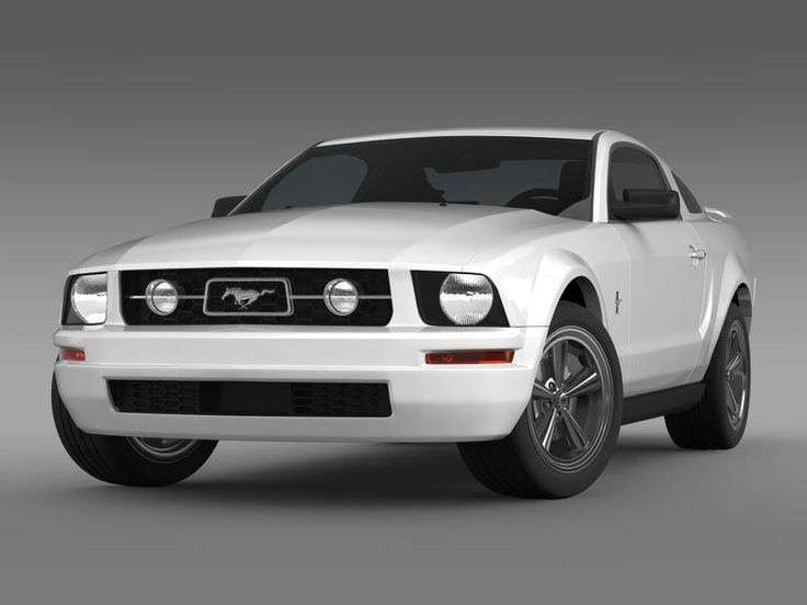 Ford Mustang V6 Pony 2006 3D Model- Let me represent you high poly 3d model of Ford Mustang V6 Pony 2006 (The Ford Mustang is an automobile manufactured by the Ford Motor Company. The Ford Mustang is one of the ten cars have changed the world by Forbes magazine as the most popular Muscle car.) with high detail.    The model is created in real size. This model is created in Autodesc Maya 2012, visualization (rendering) - Mental Ray. If necessary, the product is easy to change or modify…