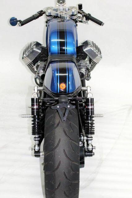 "Moto Guzzi Cafe Racer ""Cafe Ristretto"" by Radical Guzzi #motorcycles #caferacer #motos  "
