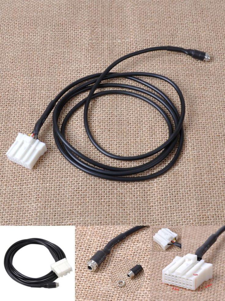 [Visit to Buy] New DIY Car AUX In Input Female Interface Adapter Cable for Mazda 3 6 M3 M6 MX-5 RX8 Besturn B70 2006 2007 2008 2009 2010 2011+ #Advertisement
