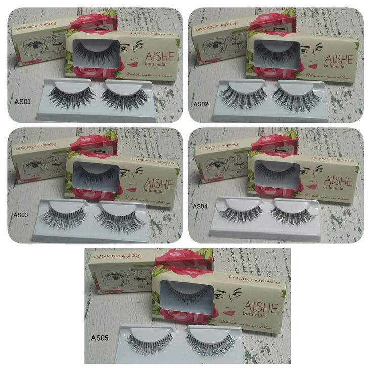 5 eyelashes type from AISHE