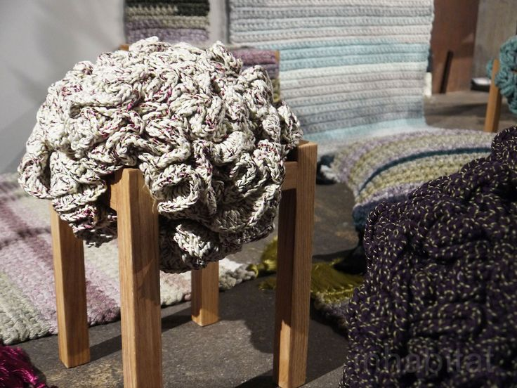 Iota Project Furniture Is Hand Crocheted Piece By Piece With The Help Of  Women In