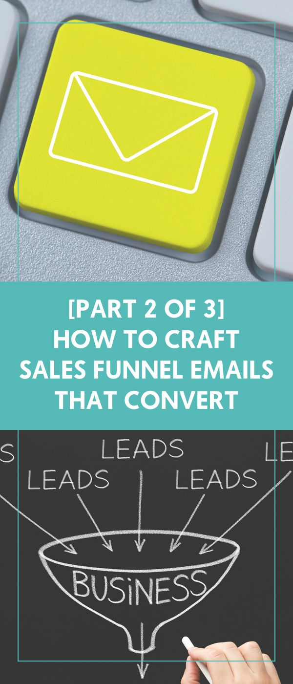 [Part 2 of 3] How To Craft Sales Funnel Emails That Convert - The Wellness Business Hub