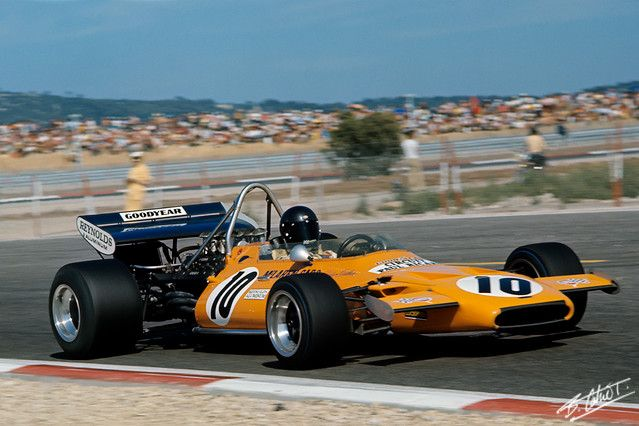 1971 France Peter Gethin McLaren M19A - Ford