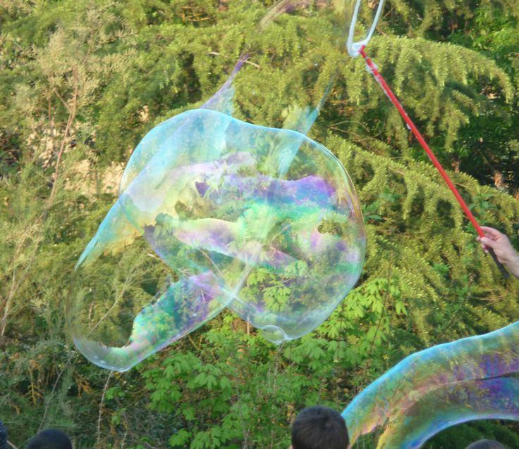 Le grandi bolle per i bambini di BirrainBo
