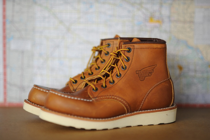 red wing 875 classic moc toe, had a pair in JR High, then in ...