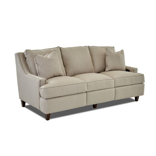 Found it at Wayfair - Tricia Power Hybrid Reclining Sofa