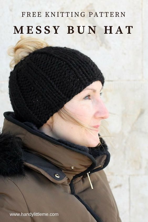 Chaotisch Brötchen Hut Muster  – Knitting