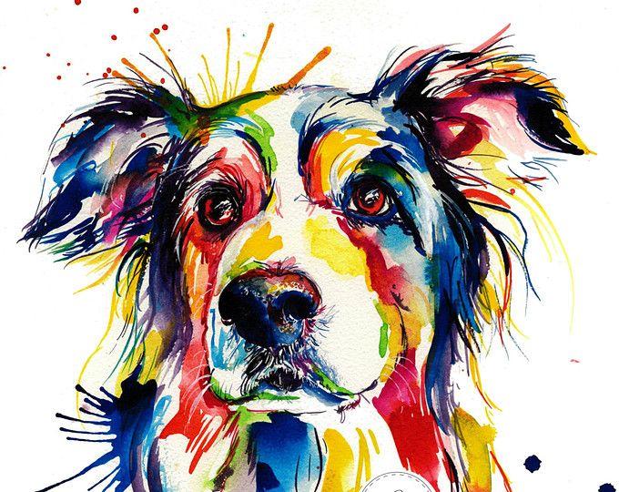 Black French Bulldog (Frenchie) Art Print – Print of Original Watercolor Painting