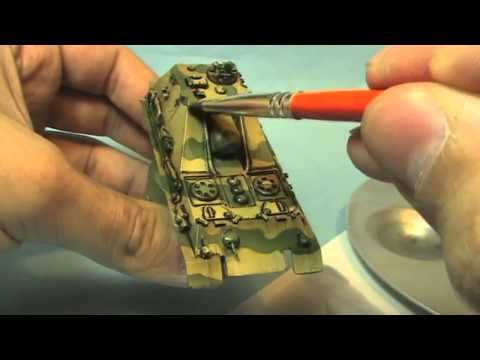 How to paint german tanks 2/3 - Weathering