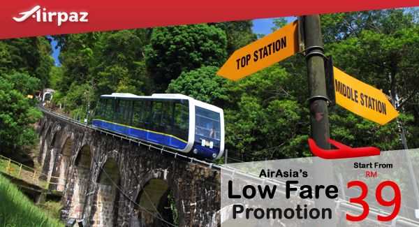 Plan for traveling on the end of the year? It's the right time to plan and search for cheap flights promotion. Fly with AirAsia Low Fare Promotion on Airpaz and grab the best promotional fare you can get for your year end holiday right now, You can fly right from Kuala Lumpur to Penang, Tawau, Jogyakarta, Siem Reap, Hyderabad, and many other great place to make your holiday unforgetable. Take your friends or your family to go holiday with you, Holiday more fun with more people !