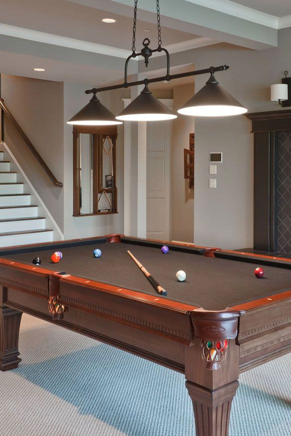 49 Cool Pool Table Lights To Illuminate Your Game Room Diy Pool