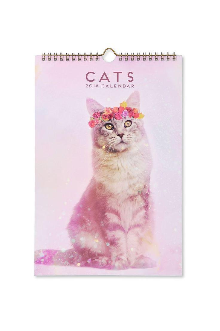 2018 Get A Date Calendar, CATS