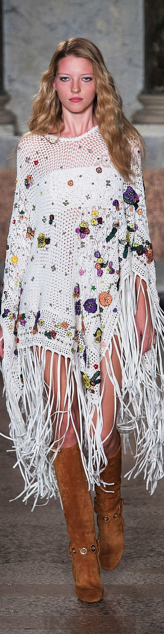 Emilio Pucci Collection Spring 2015. V//BOHO FASHION