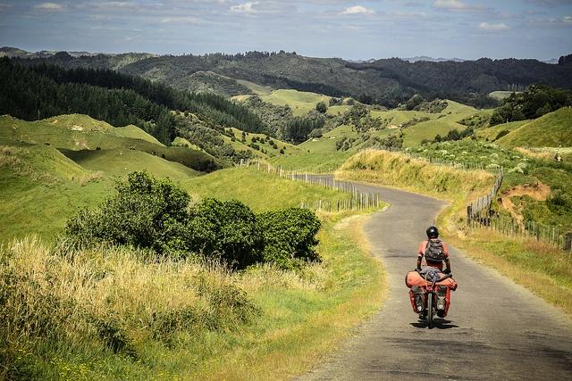 Cycling the Forgotten World Highway, North Island NZ by worldbiking.info, via Flickr