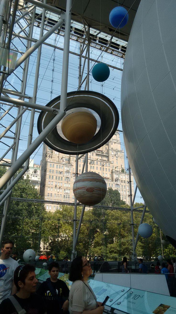 El Sistema Solar - Museo de Historia Natural NY