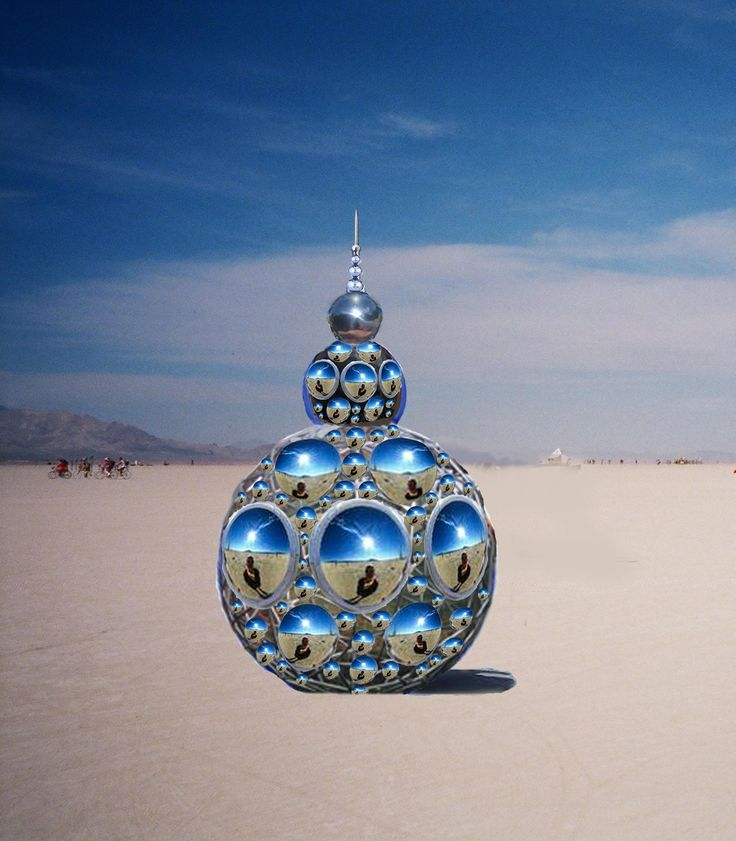 burning man installations | compoundEye01