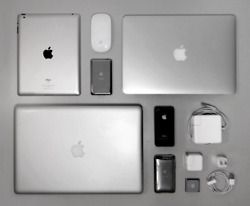 apple products all together