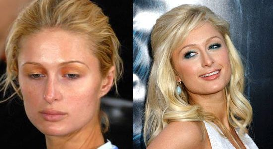 Celebrities Before And After Makeup – Wavy Haircut