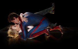 úžasný spider man lásky polibek