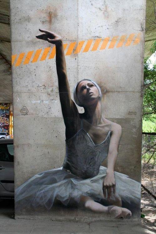 Imp2K in Warsaw, Poland #street art #graffiti