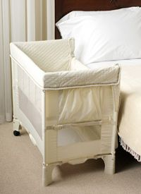 Co-sleeper bassinet. May need to get one of these. Dont really know where little one will be sleeping.