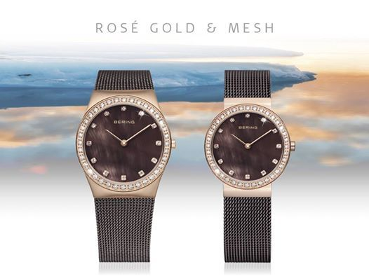 New Collection of Bering Rose Gold Watches