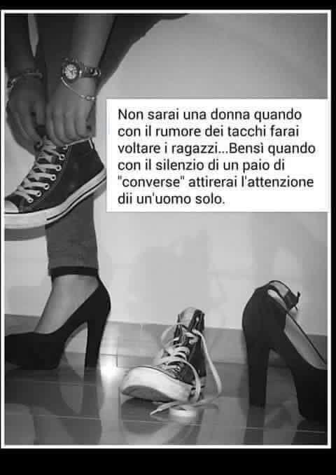 Il silenzio delle Converse