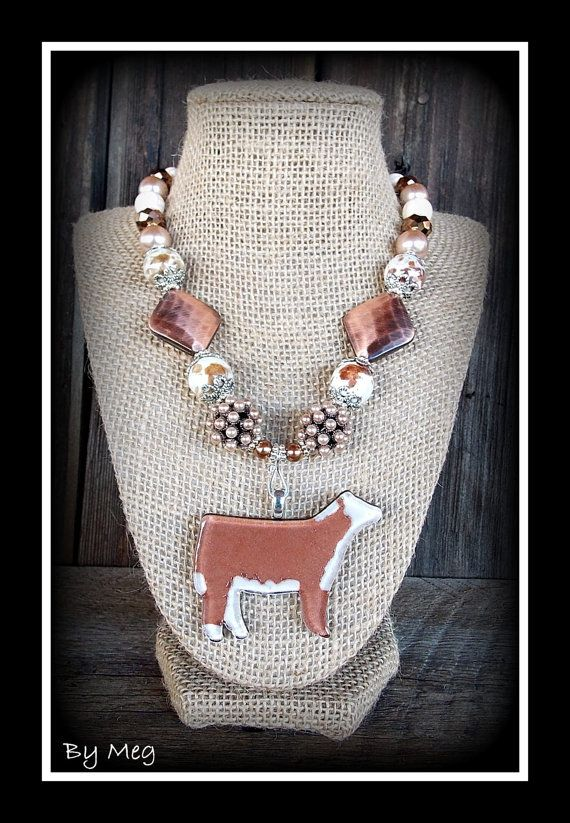 Hey, I found this really awesome Etsy listing at https://www.etsy.com/listing/224857423/glass-hereford-cattle-pendant-with