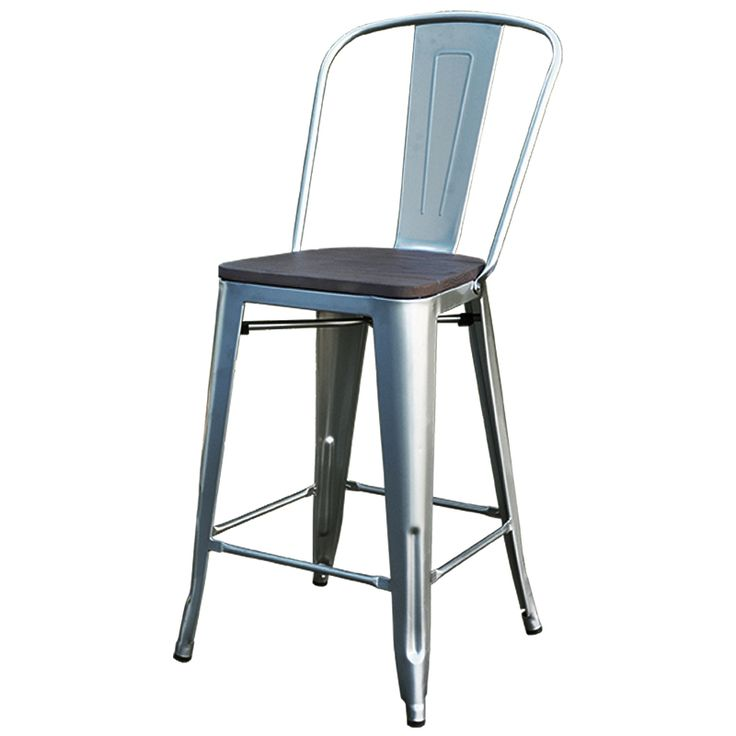 With a seat height of 75 cm, these Replica Tolix stools are the perfect height for your bar.
