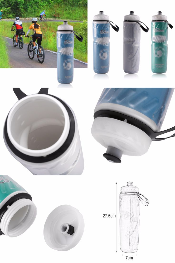 [Visit to Buy] 710ml Portable Outdoor Insulated Water Bottle Bicycle Bike Cycling Sport Water Cup Kettle Recyclable Bottle Wholesale #Advertisement