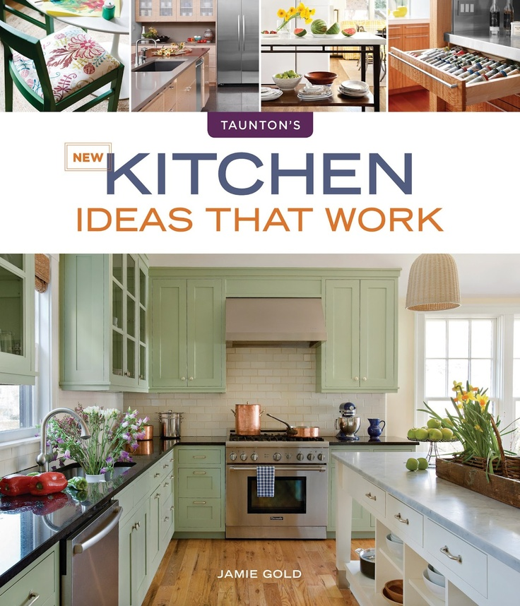 Nice New Kitchen Ideas That Work By Jamie Gold (we Follow Her Blog, Too)