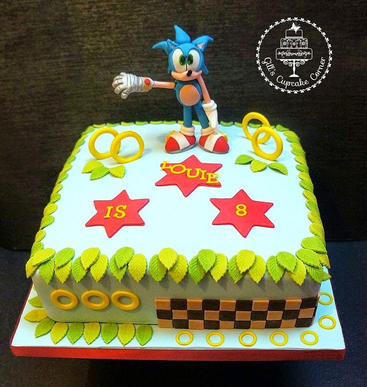 sonic the hedgehog cake - Google Search