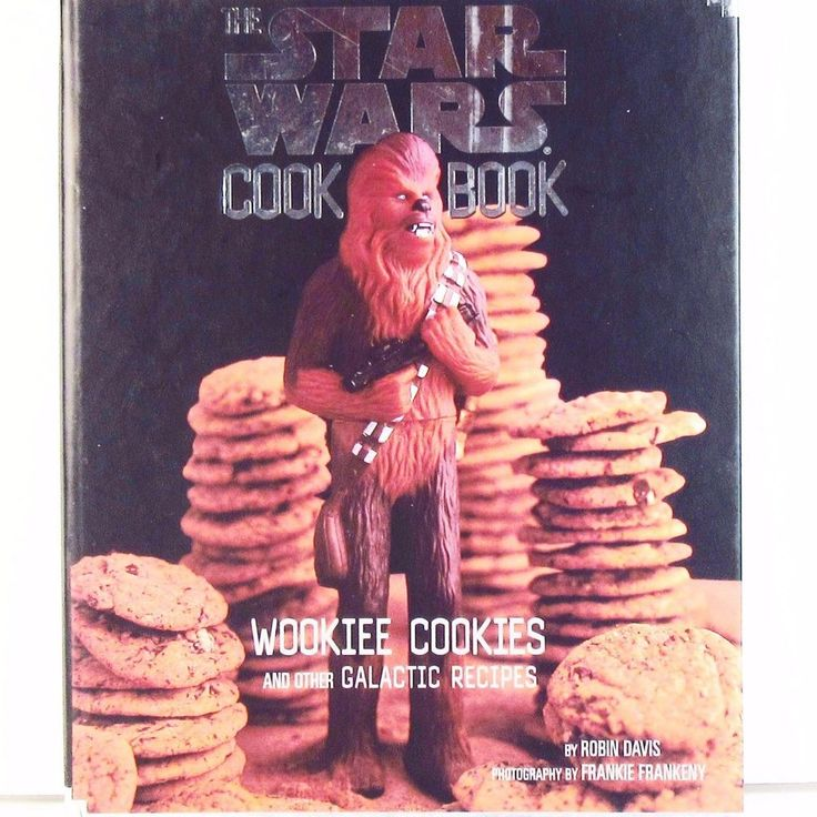 The Star Wars Cookbook Wookiee Cookies Stickers Intact