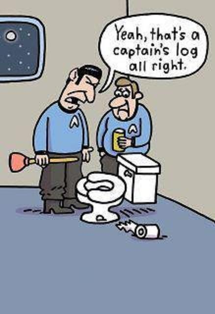 Star trek and toilet humor...oh myy! | Funny Funny Funny ...
