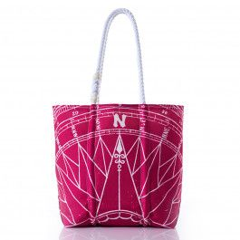 Much like a compass, Mothers often guide us in the direction of our True North. Featuring an intricate compass rose print on recycled sail cloth, this tote is the perfect gift for the one who has kept you sailing in the right direction.