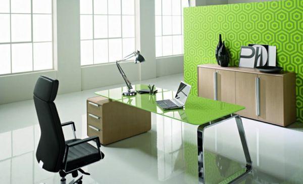 arbeitszimmer gestalten feng shui büro büromöbel holz farben   feng ...