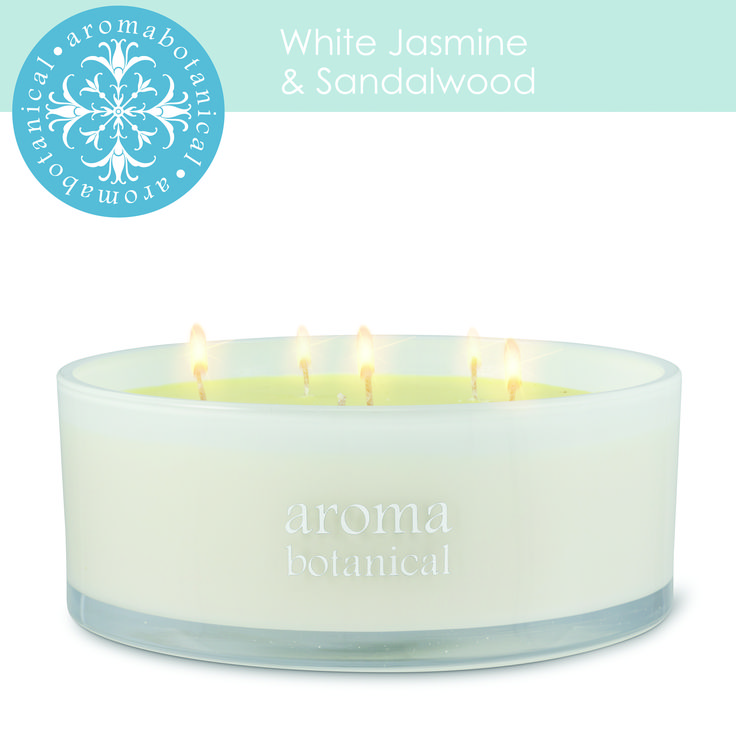 Another great addition to our candles this one featuring floral and earthy notes. Shown here in a six-wick style candle.