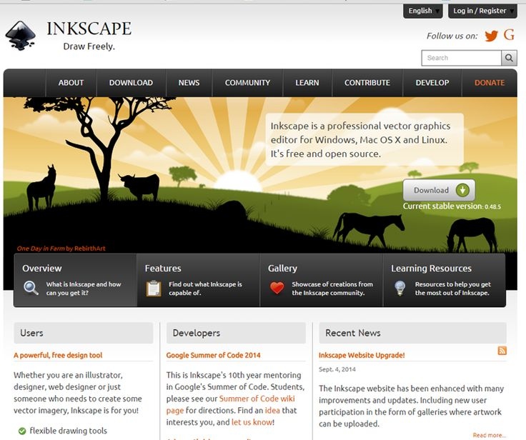 Lovely https inkscape org Inkscape is another free open source program that