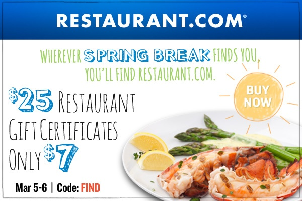Restaurant Coupons & Deals for Valentine's Day 2013