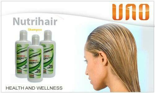 1st HEALTH NUTRIHAIR SHAMPOO  With Patchouli, Aloe Vera, Virgin Coconut Oil, Tea Tree Oil  Stronger, thicker, fuller and healthier hair!  1st Health Nutri-Hair Shampoo provides the essential botanical hair nutrition from the best herbs, salves and balms of the world. Delivering total protection as it cleans your scalp, preventing dandruff and dirt accumulation while nourishing, cleansing, conditioning and moisturizing your hair.