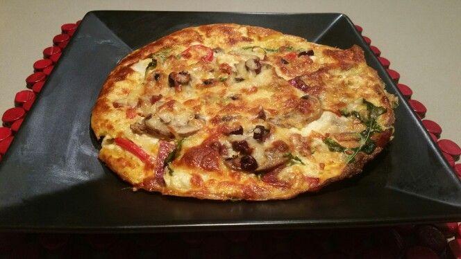 Pizza Omellet