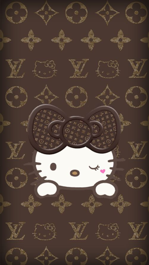 hello kitty and wallpaper imageの画像