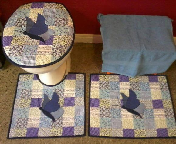 Patchwork Tapete De Banheiro : Patchwork and Ems on Pinterest