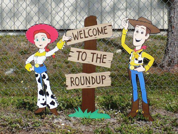 Toy Story Woody Birthday Decoration