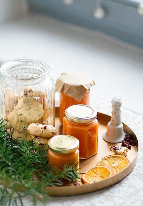 Home made Pumpkin ginger orange jam