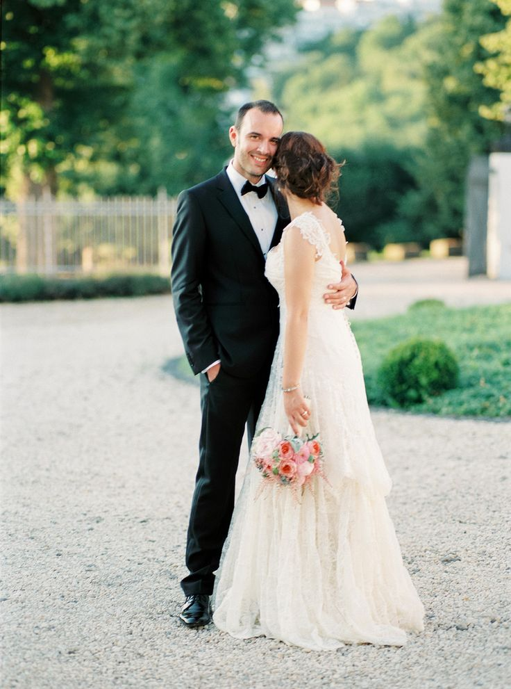this #lace dress is so beyond #wedding-dress #fashion | Photography: Birgit Hart Fotografie - birgithart.com, Florals by http://www.lebahn-floristik.de/   Read More: http://stylemepretty.com/2013/10/23/koblenz-germany-wedding-from-birgit-hart-fotografie/